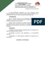 PROYECTO EDUCATIVO INSTITUCIONAL CAMPODÉN 2016