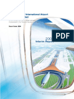 2009 Beijing Airport Interim Report