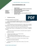 HOJA DE INF 001 2020