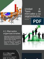 Unidad 4 Tipos de mercados y su segmentación