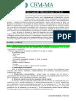 PROPOSTA DE TRATAMENTO PRECOCE PARA COVID-19 - 1ª Revisão (05 de Maio de 2020) (1) (1)