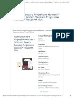4 Raven's Standard Progressive Matrices™ (SPM)