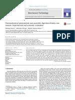 Pretratamiento termoquímico y digestión anaerobia del estiércol de vaca lechera evaluación experimental y económica.pdf