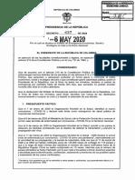 Decreto 637 Del 6 de Mayo de 2020