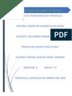 ACEROS UTILIZADOS PARA LA FABRICACIÓN DE PERFILES ESTRUCTURALES