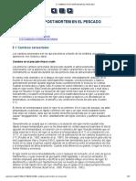 5. CAMBIOS POST-MORTEM EN EL PESCADO