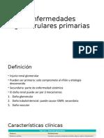Enfermedades glomerulares primarias