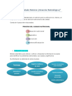Proceso de cuidado nutricio (atención nutriológica)