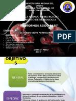 transtorno acido base