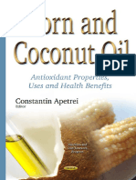 (Nutrition and Diet Research Progress) Constantin Apetrei - Corn and Coconut Oil_ Antioxidant Properties, Uses and Health Benefits-Nova Science Pub Inc (2015)