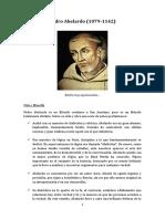 Pedro Abelardo - prof. García Castillo