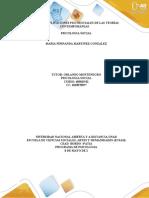 – Fase 3 – Aplicaciones psicosociales de las teorías contemporáneas - MARIA FERNANDA MARTINZ G.