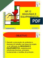 NR12 - Máquinas Equipamentos - 48 slides