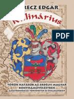 Kulinárius. Török hatások az erdélyi magyar konyhaművészetben