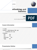 01. Research Methodology and Statistics Introduction