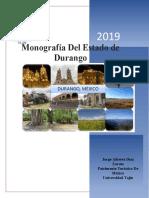 Monografía Del Estado de Durango