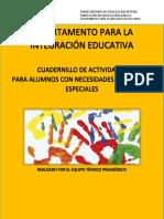 CUADERNILLO DE ACTIVIDADES NEE