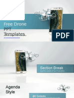 Mobile Control Drone PowerPoint Templates.pptx