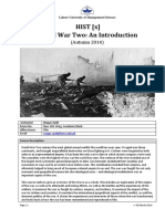 HIST 2216-World War Two-An Introduction-Waqar Zaidi