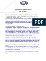 relationships  personal growth