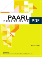 paarl research journal 2018