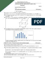 ENVIII Matematica 2020 Test 20