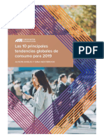 10 Tendencias 2019 - Euromonitor
