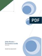 Societatea Civila - Politologie - John Keane