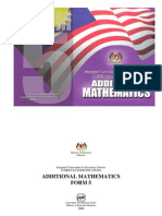SPM Add Maths Formula List Form5