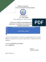 Time tabling System Dissertation (LOUIS)