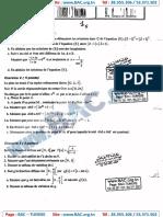 Devoir Synthése N°1 avec correction - Mathematique - bac science - Mrs Smaoui.126