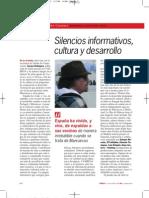 Silencios Informativos, cultura y desarrollo