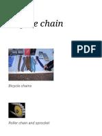 Bicycle chain - Wikipedia