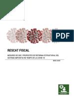 Informe Mesures Fiscals Covid-19