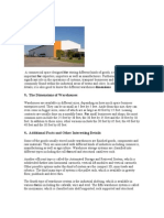 Suggested Dimension for Warehousing