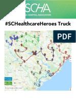 SCHA SC Healthcare Heroes Truck Map 2020