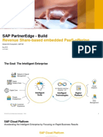 SAP PartnerEdge - Build_ Revenue Share-based embedded PaaS-offering