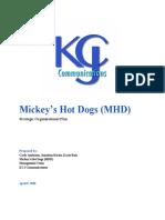 Mickey's Hot Dogs Strategic Plan