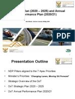 Transport Presentation 6 May 2020