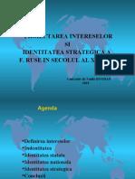 2. Proiectarea intereselor F. Ruse