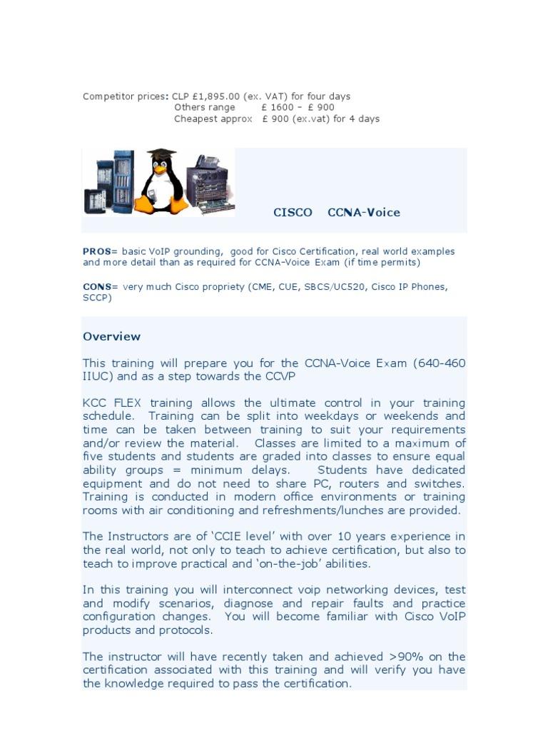 Ccna Voice Cisco Certifications Voice Over Ip