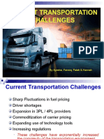 transportation in SCM challenges