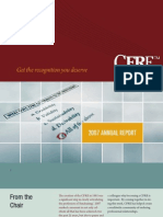 2007 CFRE Annual Report