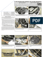 10 Up Lexus Rx Heavy Mesh Grille Installation Manual Carid