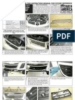 10 Up Mazda Cx7 Grille Installation Manual Carid