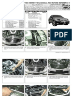 10 Up Mercedes e Class Grille Installation Manual Carid