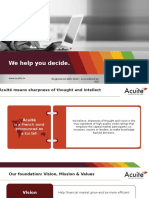 Acuite Corporate Presentation 05-May-2020