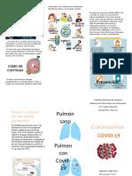 Triptico sobre el coronavirus - Yelitza Feng