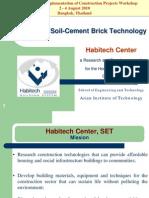Interlocking Earth Bricks Technology