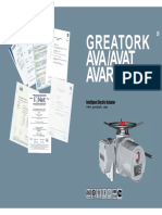 Greatork Catalogue  for electric actuator